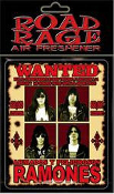 RAMONES - WANTED AIR FRESHENER