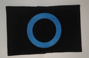 GERMS - LOGO BLUE CIRCLE ARMBAND