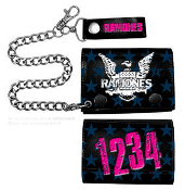 RAMONES - 1234 LEATHER WALLET WITH CHAIN