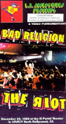 BAD RELIGION - THE RIOT VHS