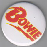 BOWIE - BOWIE BUTTON / BOTTLE OPENER / KEY CHAIN / MAGNET