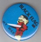 BLACK FLAG - MY WAR BUTTON / BOTTLE OPENER / KEY CHAIN /