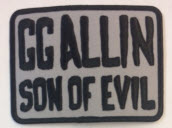 GG ALLIN - SON OF EVIL PATCH