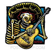EMBROIDERED PATCH - ALMERA GUITARRO PATCH