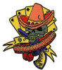 EMBROIDERED PATCH - DAN COLLINS BANDITO PATCH