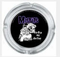 MISFITS - DIE DIE MY DARLING GLASS ASHTRAY