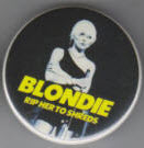 BLONDIE - RIP HER TO SHREDS BUTTON PIN BOTTLE OPENER KEY CHAIN