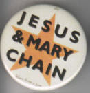 JESUS & MARY CHAIN - STAR BUTTON / BOTTLE OPENER / KEY CHAIN