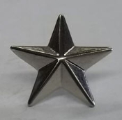 STARS MEDIUM SILVER (PACK OF 20) - FREE SHIPPING
