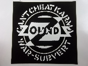 ZOUNDS - CAN'T CHEAT KARMA STICKER