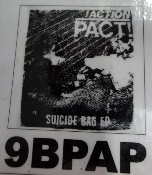 ACTION PACT - SUICIDE BAG EP BACK PATCH