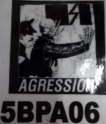 AGRESSION - COP BACK PATCH
