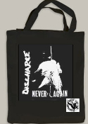 DISCHARGE - NEVER AGAIN TOTE BAG