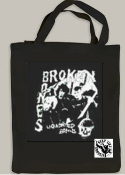 BROKEN BONES - LIQUIDATED BRAINS TOTE BAG