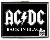 AC/DC - BACK IN BLACK CIGARETTE CASE