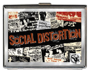 SOCIAL DISTORTION - NEWSPAPER CIGARETTE CASE