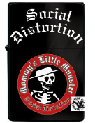 SOCIAL DISTORTION - MUMMY'S LITTLE MONSTER LIGHTER REFILL METAL