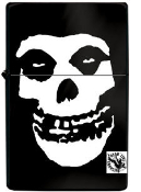 MISFITS - SKULL LIGHTER REFILL METAL