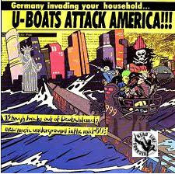 COMPILATION LP - U-BOATS ATTACK AMERICA !!!