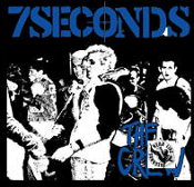 7 SECONDS - THE CREW BACK PATCH