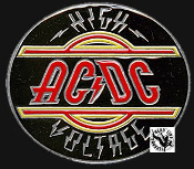 AC/DC - HIGH VOLTAGE BELT BUCKLE