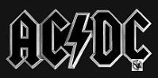 AC/DC - BEVELED DIECUT BELT BUCKLE