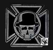 ADICTS - IRON CROSS BELT BUCKLE