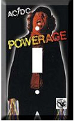 AC/DC - POWERAGE SWITCH PLATE