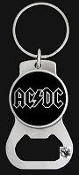 AC/DC - AC/DC COIN BOTTLE OPENER / KEY CHAIN