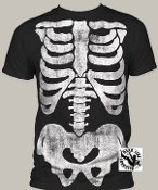POP CULTURE TEE SHIRT - X RAY FULL PRINT