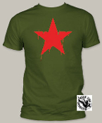 POP CULTURE TEE SHIRT - RED STAR