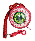 PURSE - EYEBALL PURSE RED