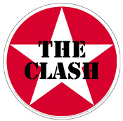 CLASH - STAR STICKER