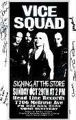 HEADLINE FLYER - VICE SQUAD SIGNING