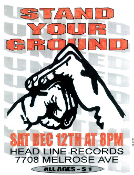 HEADLINE FLYER - STAND YOUR GROUND (COLOR)