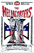 HEADLINE FLYER - HELLACOPTERS SIGNING (COLOR)