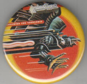 JUDAS PRIEST - EAGLE BUTTON PIN / BOTTLE OPENER / KEY CHAIN /