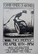 HEADLINE FLYER - FORMER MEMBERS OF ALFONSIN / NO REPLY