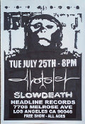 HEADLINE FLYER - AVULSION / SLOWDEATH