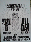 HEADLINE FLYER - ALL DAYS / SIDESHOW BOB