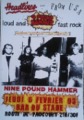 HEADLINE FLYER - 9 POUND HAMMER