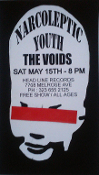 HEADLINE FLYER - NARCOLEPTIC YOUTH / VOIDS