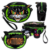 BAG - KATTITUDE MINI CLUTCH MAKE UP BAG