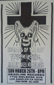 HEADLINE FLYER - REMAINS OF THE DAY / PROGERIA / MURDER