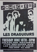 HEADLINE FLYER - THE CHECKERS / LES DRAGUEURS