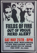 HEADLINE FLYER - FIELDS OF FIRE / OUT OF VOGUE (COLOR)