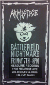 HEADLINE FLYER - ARMISTICE / BATTLEFIELD NIGHTMARE