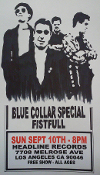 HEADLINE FLYER - BLUE COLLAR SPECIAL / FISTFULL (COLOR)