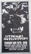 HEADLINE FLYER - STRONG INTENTION