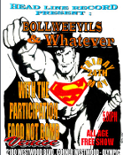 HEADLINE FLYER - BOLLWEEVILS / WHATEVER (COLOR)